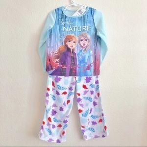 NWT frozen pajama set